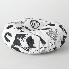 potter's head Floor Pillow