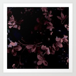 The perfect flowers for me 5 Art Print