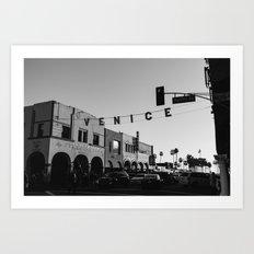 Venice Beach California V Art Print