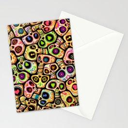 Calaveras del Día de los Muertos. Stationery Cards