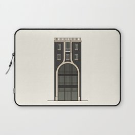 Black house with a shop Laptop Sleeve