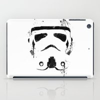trooper iPad Cases featuring Trooper by Purple Cactus
