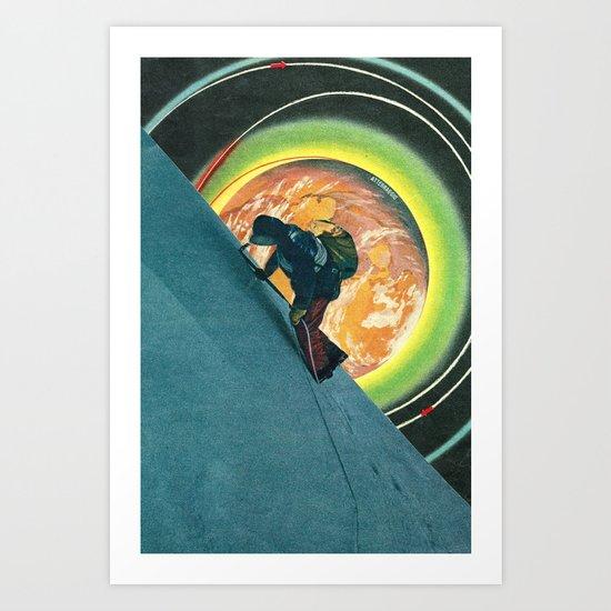 Punto di atterraggio Art Print