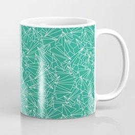 Schoolyard Aviation Green Coffee Mug