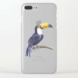 Toucan, tropical bird Clear iPhone Case
