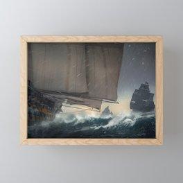 Pirates! Framed Mini Art Print