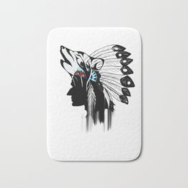 Indian Americans,indigenous,native people Bath Mat