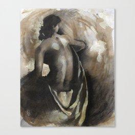 Female Nude #1 Canvas Print