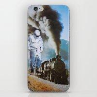iron man iPhone & iPod Skins featuring Iron Man by John Turck