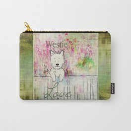 Westie Love ~ West Highland Terrier Carry-All Pouch