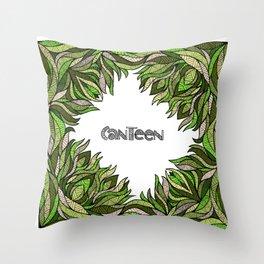 Canteen Bandanna Design Throw Pillow