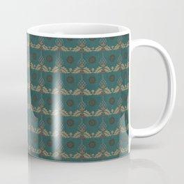 Nut Tree Floral Silk Sheet Embroidery Coffee Mug