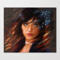bioshock infinite Canvas Prints featuring Broken Skies - Bioshock Infinite by AlexRusso