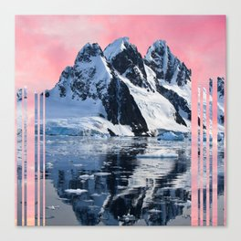 pinksky Canvas Print
