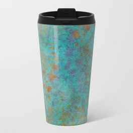 Fantaisie Floral Teal Travel Mug