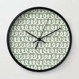 Loop da Loop . Sage Wall Clock