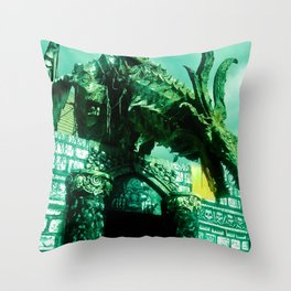 The House of Terror. Throw Pillow