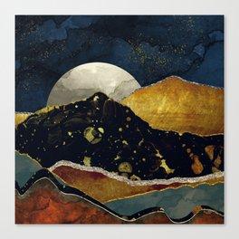 Bronze Night Canvas Print