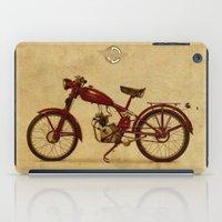 ducati iPad Cases featuring Ducati 60 1950 by Larsson Stevensem