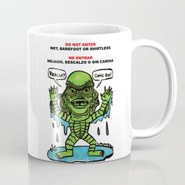 No Entrar Coffee Mug