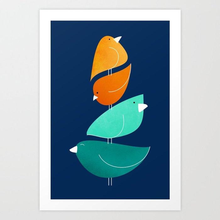 Bird Stack III Kunstdrucke