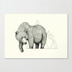 'Wildlife Analysis IV' Canvas Print