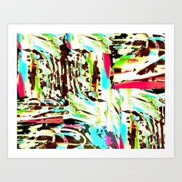 Splotches Art Print