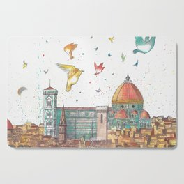 Colors Of Florence Cutting Board