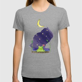 The frog and the moon T-shirt