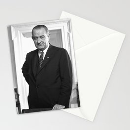 Lyndon B. Johnson Portrait Stationery Cards