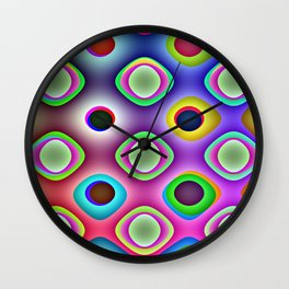Crazy Candy's Abstract 5 Wall Clock