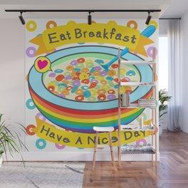 Eat Breakfast! Wall Mural