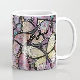 butterflies aflutter rosy pastels version Coffee Mug