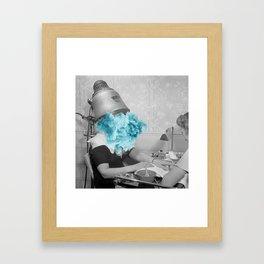 Suffering for Beauty Framed Art Print