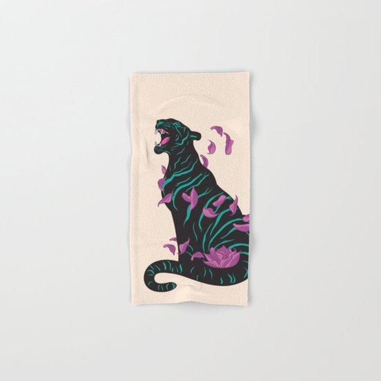 Black tiger Hand & Bath Towel