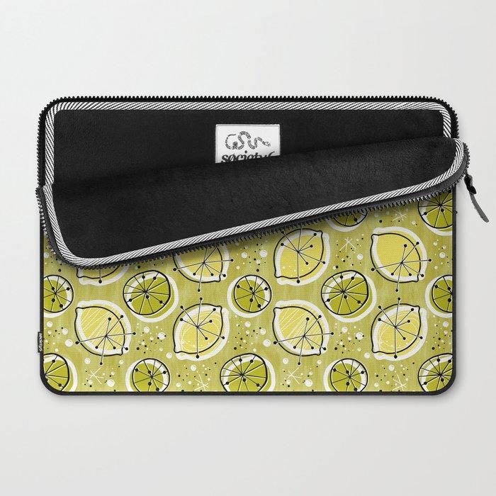 Atomic Lemonade_Green Laptop Sleeve