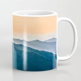 Early Morning Mountains Coffee Mug