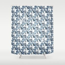 Diamonds are for Ever Shower Curtain