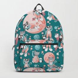 Cats, pandas and unicorns I Backpack