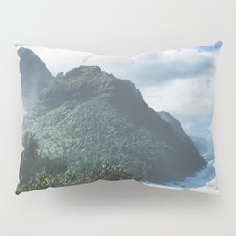 Na Pali Coast Kauai Hawaii Pillow Sham