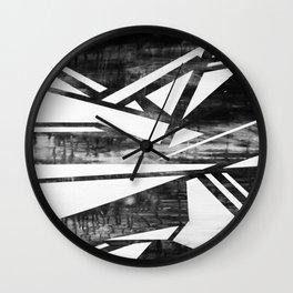 ZEBRA HUG Wall Clock