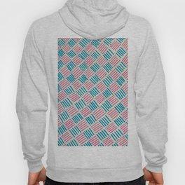 Basket Weave Pattern Hoody