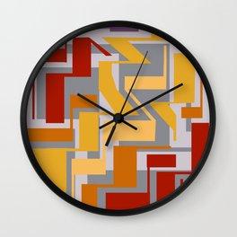 LineWork: Rush Wall Clock