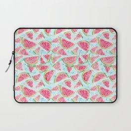 Fresh watermelon watercolor pattern Laptop Sleeve
