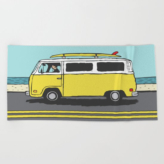 Surf Series | The Search Beach Towel