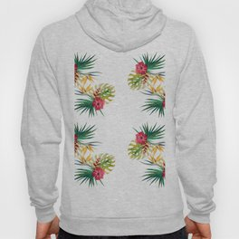 tropical flowers Hoody