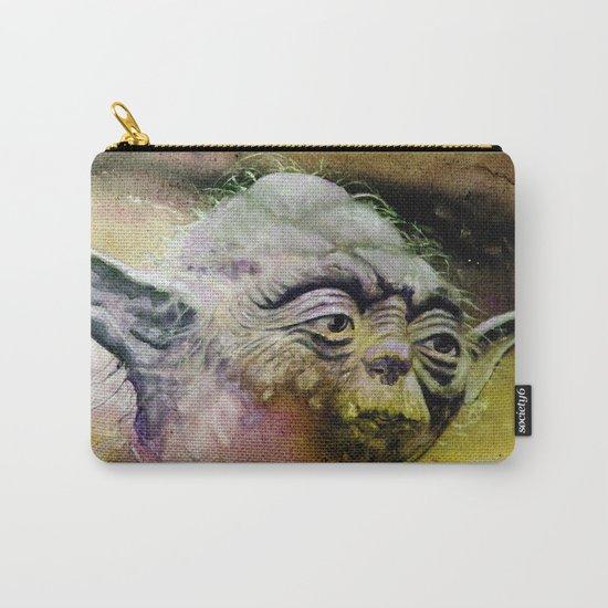 YODA - portrait Carry-All Pouch