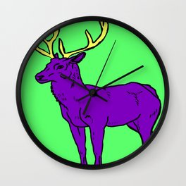 The Great Stag Wall Clock