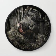 Tom Feiler Turkey Wall Clock