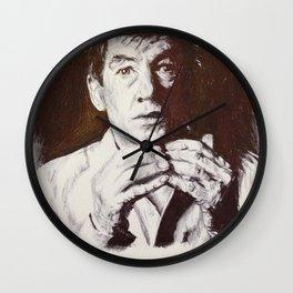 Sir McKellen Wall Clock